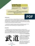 Contenidos filosóficos del Okinawa Karate y Kobudo