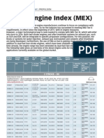 Marine Engine Index (MEX)