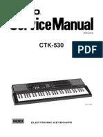 Casio CTK530 Service