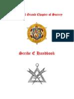 Scribe E Handbook (Surrey Province)