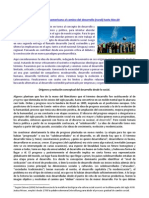 Una visión Latinoamericana al camino del desarrollo (rural) hasta Río+20