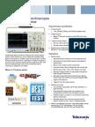 MDO4000 Mixed Domain Oscilloscope Datasheet 5