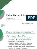 Value Methodology