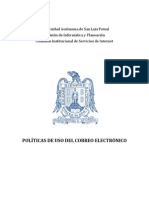 Politica de Correo de La UASLP