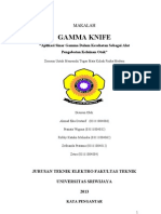 "Makalah Fisika Modern-Gamma Knife ""Aplikasi Sinar Gamma Dalam Kesehatan Sebagai Alat Pengobatan Kelainan Otak"""