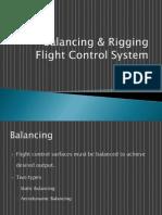 Balancing & Rigging - Flight Control System