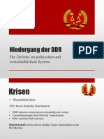 Niedergang Der DDR