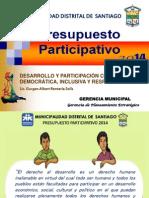 DESARROLLO Y PARTICIPACIÓN CIUDADANA INCLUSIVA Y RESPONSABLE  - MDS