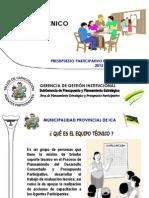 Conformacion Del Equipo Tecnico 2012