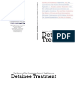 The Report of The Constitution Project's Task Force on Detainee Treatment