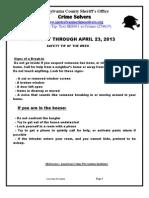 CS FOR 4-17 THRU 4-23-2013