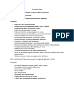 Programa de Charla Running Perspectiva Clínico Biomecánica
