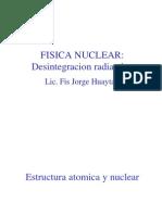 12s-decaimiento radiactivo