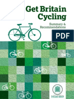 'Get Britain Cycling' report