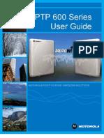 MAN014 Motorola PTP 600 Series 08-01 User Manual