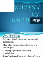 Strategy of Growth