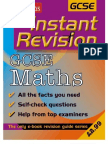 General Mathematics IGCSE Past Paper Questions Classified according by topic