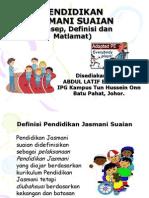 Pendidikan Jasmani Suaian_m1