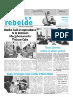 Juventud Rebelde 24 de Octubre 2009