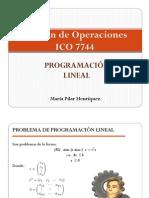Cap. 3 - Programacion Lineal