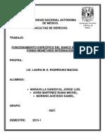 Banco Mundial y Fondo Monetario