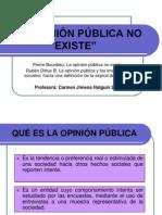Bourdieu, Pierre. (1972) La opinión pública no existe.ppt