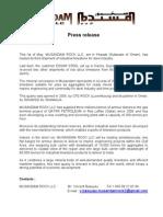 Press Release 040509
