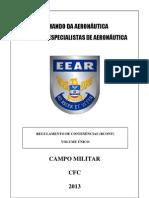 CFC - REGULAMENTO DE CONTINÊNCIAS - RCONT