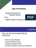 ImageProcessing-SpatialFiltering