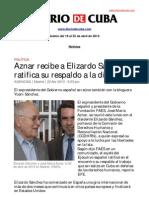 Boletín de DIARIO DE CUBA | Del 19 al 25 de abril de 2013