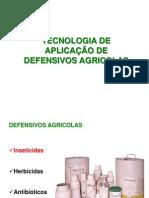 TECNOLOGIA DE APLICAÇÃO DE DEFENSIVOS AGRICOLAS
