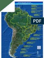 Brasil Regioes Hidrograficas