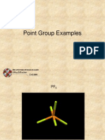 11 Point Group Examples