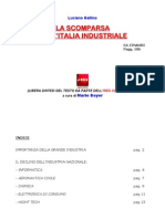 Gallino - La Scomparsa Dell'Italia Industriale