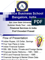 Financial Services Reforms in India