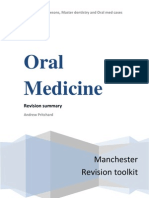 dental Oral Medicine Revision Tool