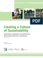 Creating a Culture of Sustainability