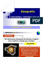 Aula 08 - Geografia - Sistema Solar