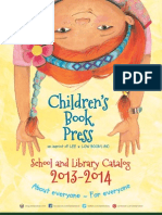 Children's Book Press 2013 Catalog