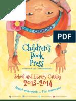 Children's Book Press 2013 Catalog