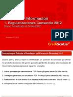 Status Regularizacion Consorcio 2012