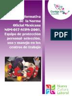 Norma017 Eep Seleccion Uso y Manejo en Los Centros de Trabajo
