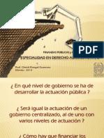 Tema 3. Justificación de un sistema de gobierno multijurisdiccional. El Federalismo fiscal.