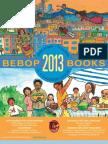 Bebop Books Catalog 2013