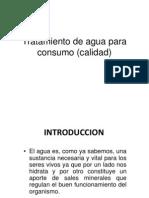 Tratamiento de Agua Para Consumo (Calidad) Pa Exponer