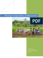 Musings on Agriculture in Maharashtra