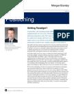 Shifting Paradigm-Insights From Morgan Stanley's CIO