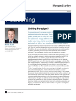Shifting Paradigm-Insights From Morgan Stanley's CIO