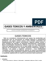 Toxico Gase Toxicos y Iritantes