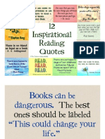 Inspirational Quotes for Reading